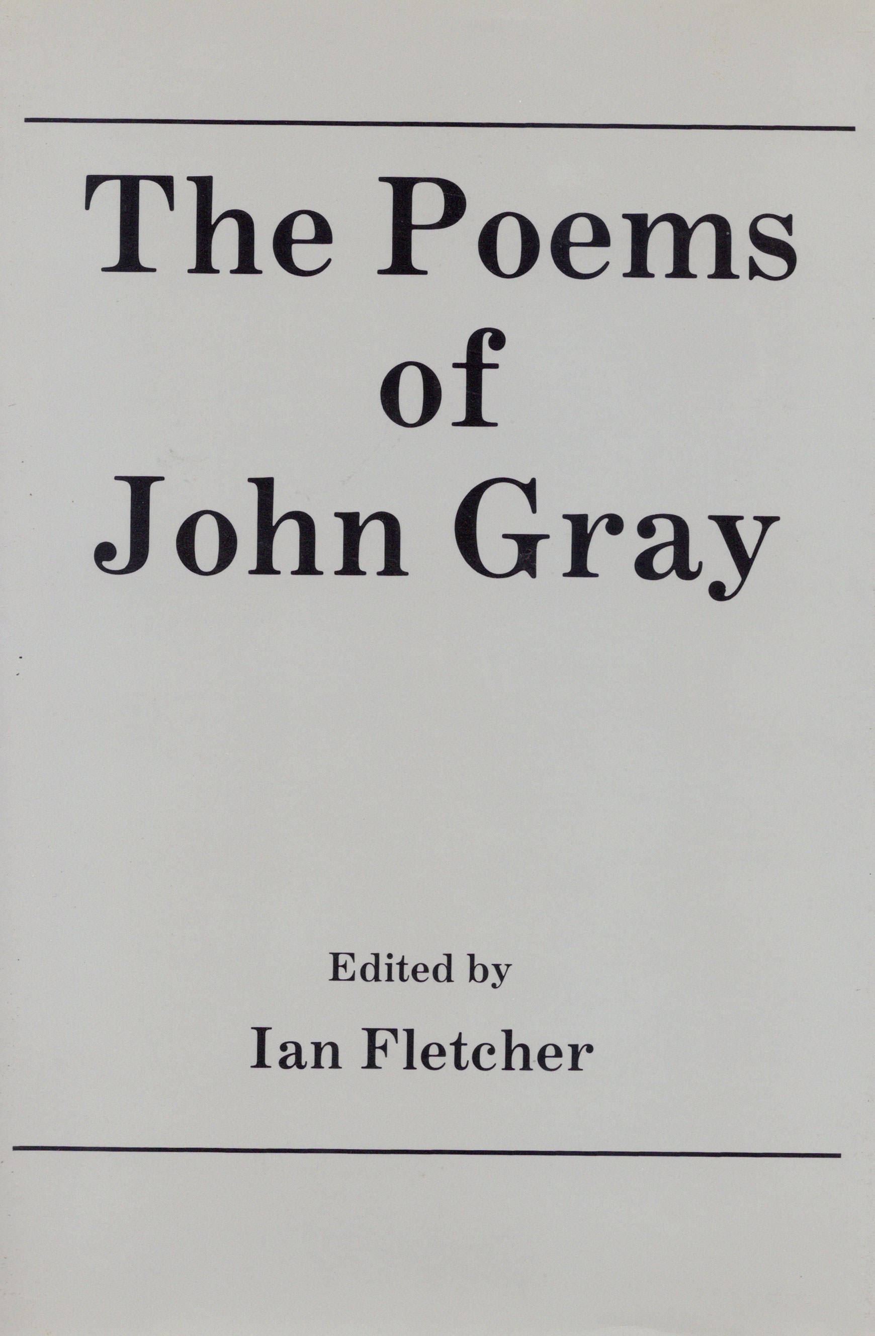 John Gray Original Dust Jacket