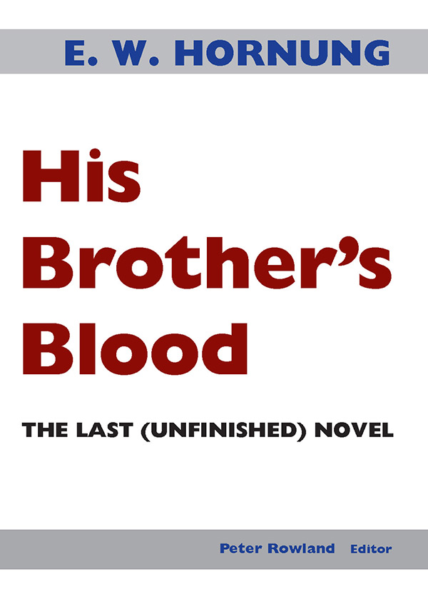 Cover His Brother's Blood