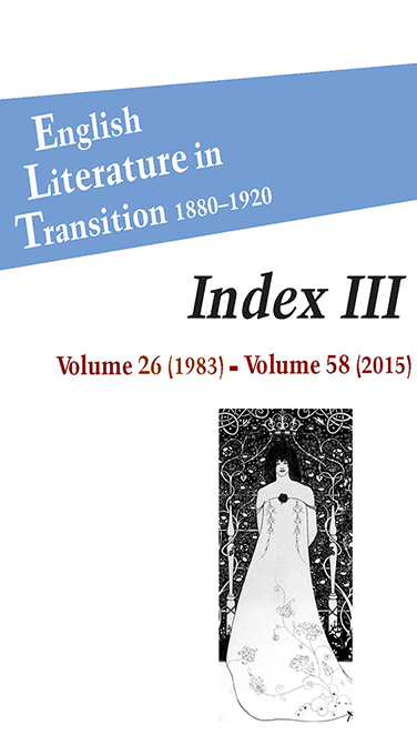 Index III Cover
